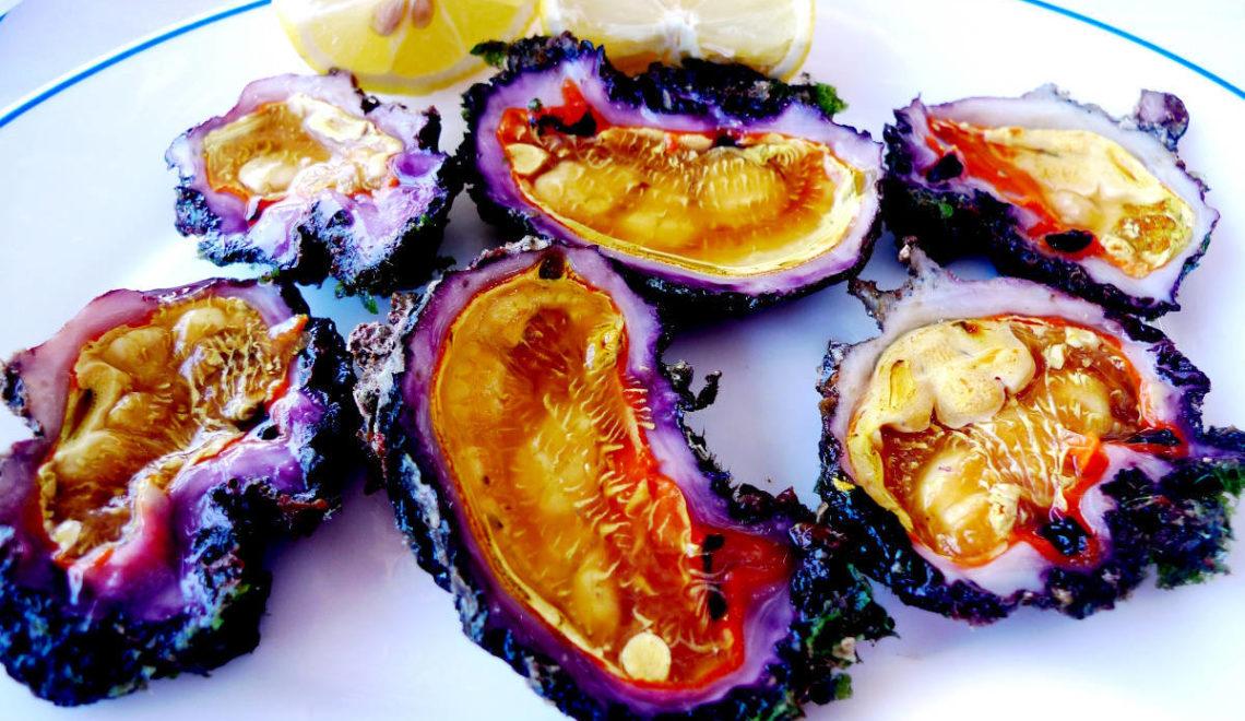 Φούσκες, η γεύση της θάλασσας