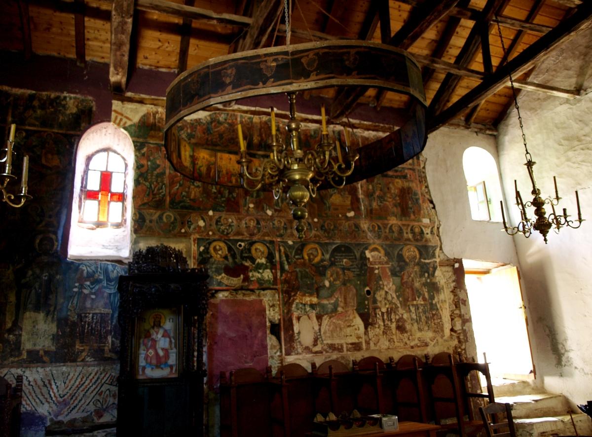 Το εσωτερικό του Χριστού στο Κάστρο της Σκιάθου © Nikos G. Mastropavlos / eudemonia.gr