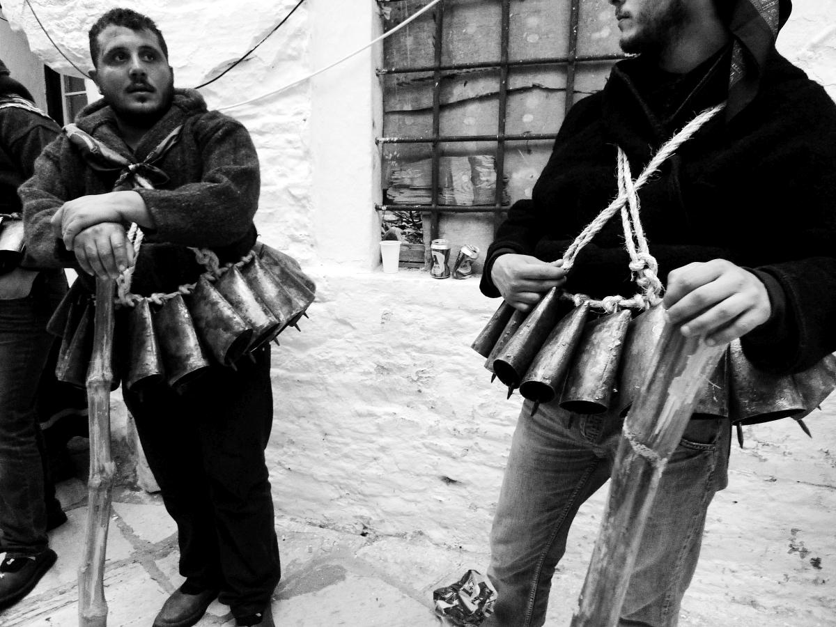 Κουδουνάτοι στην Απείρανθο της Νάξου.